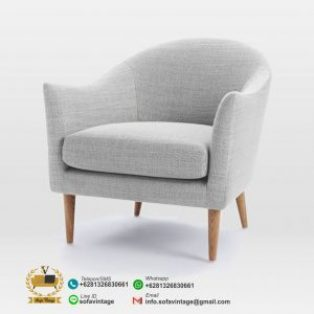 Sofa Single Retro Minimalis Liquid