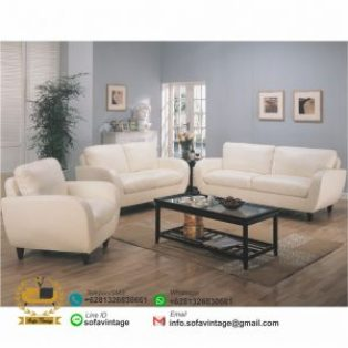 Set Sofa Tamu Retro Minimalis Dealova