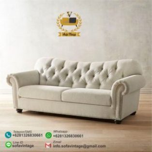 Sofa Minimalis Chesterfield Baxter