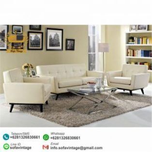 Set Sofa Retro Minimalis Cortana