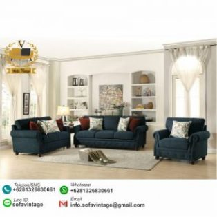 Set Sofa Tamu Minimalis Liliana