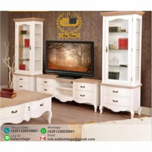 Set Bufet TV Shabby Vintage